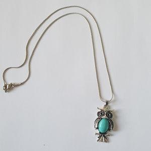 Jewelry - Owl Pendant Necklace NWOT